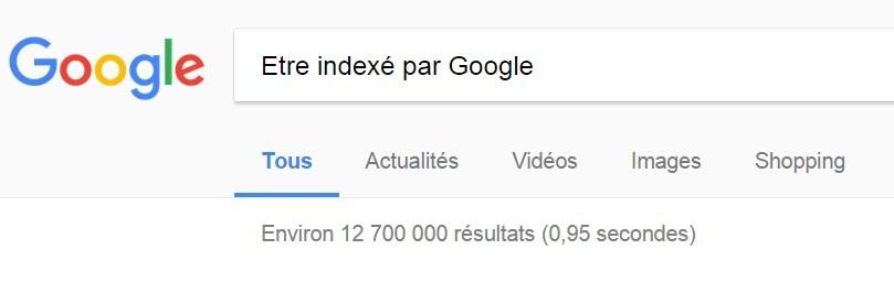 Etre indexé par Google