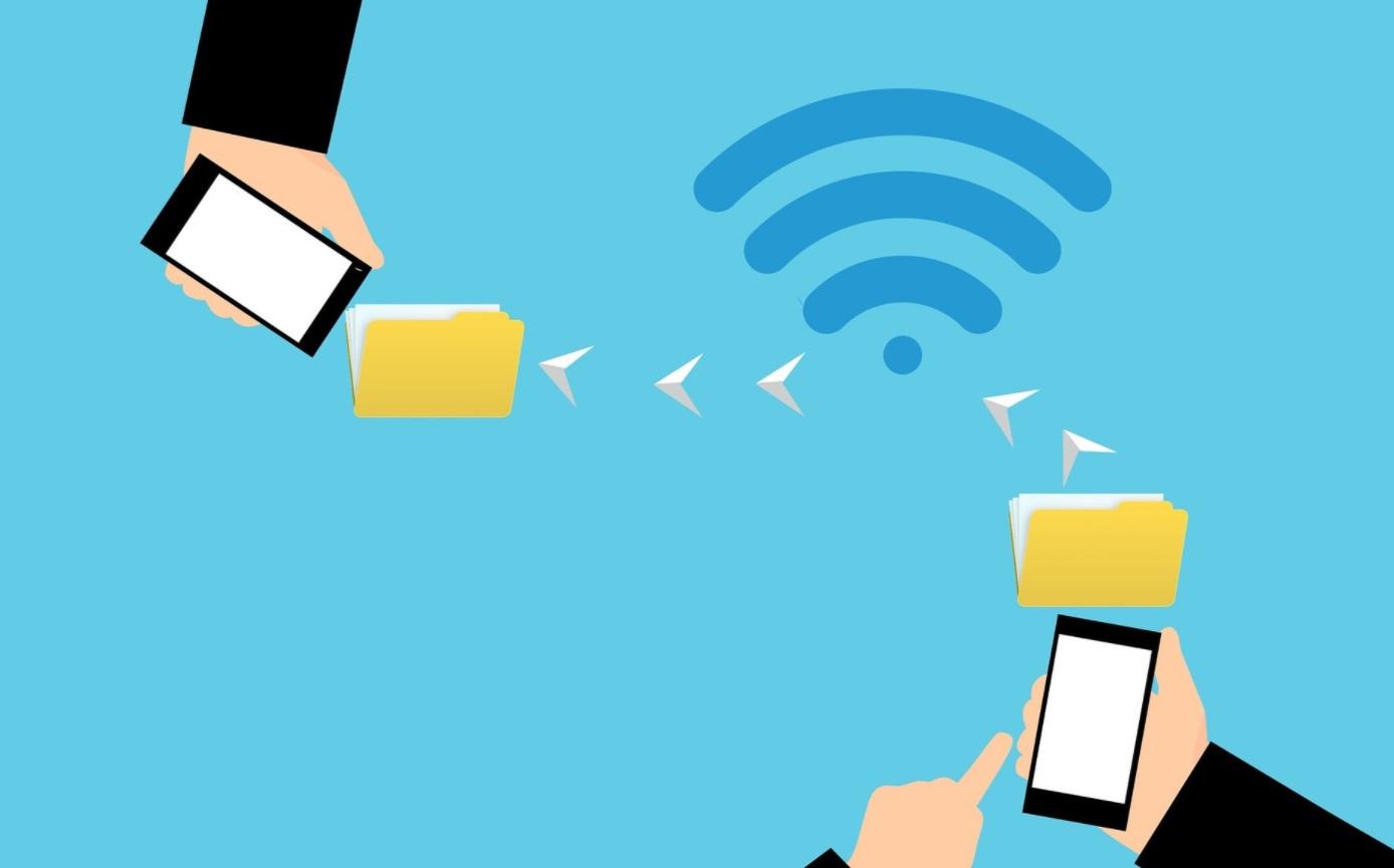 Envoi de fichiers d'un smartphone à un autre