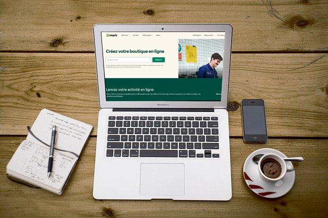 créer ecommerce avec Shopify