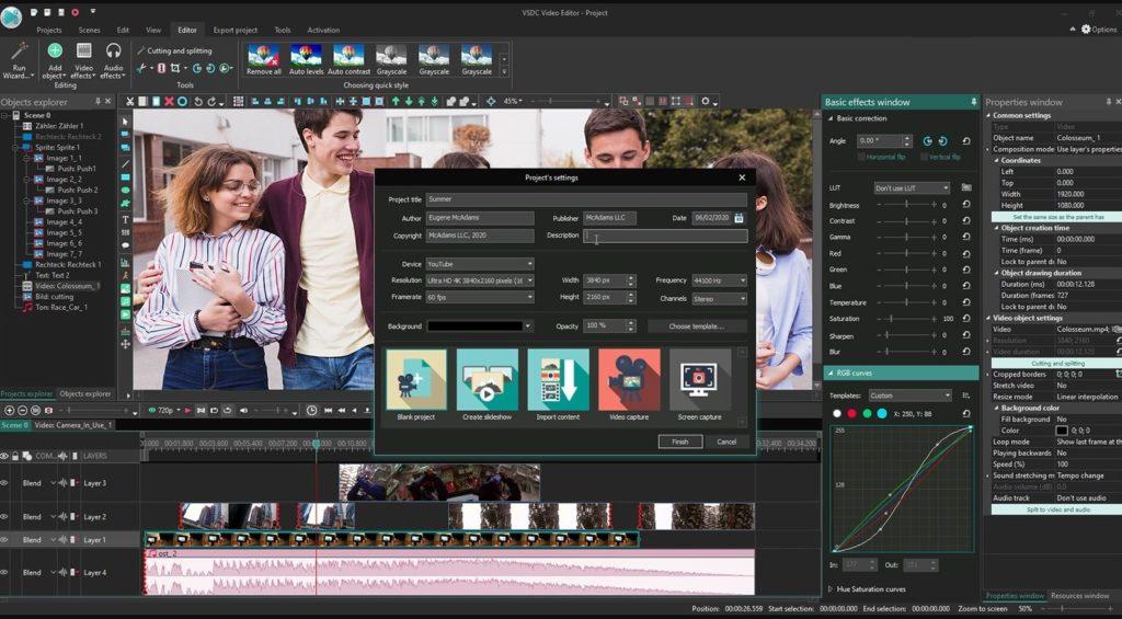 VSDC Free Vidéo Editor