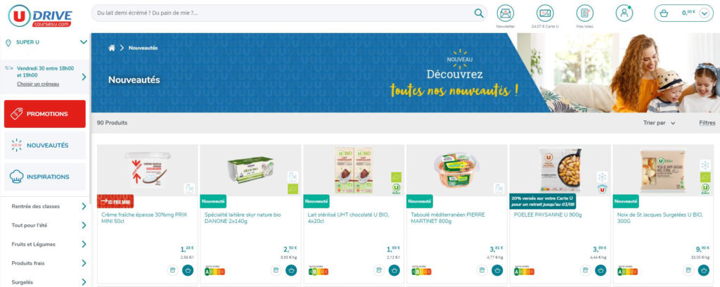 Site ecommerce Super U